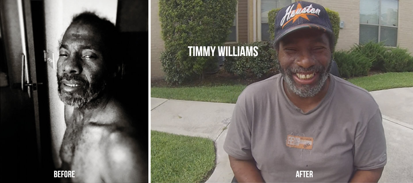 Strengthening the Health System - Timmy Williams - before and after