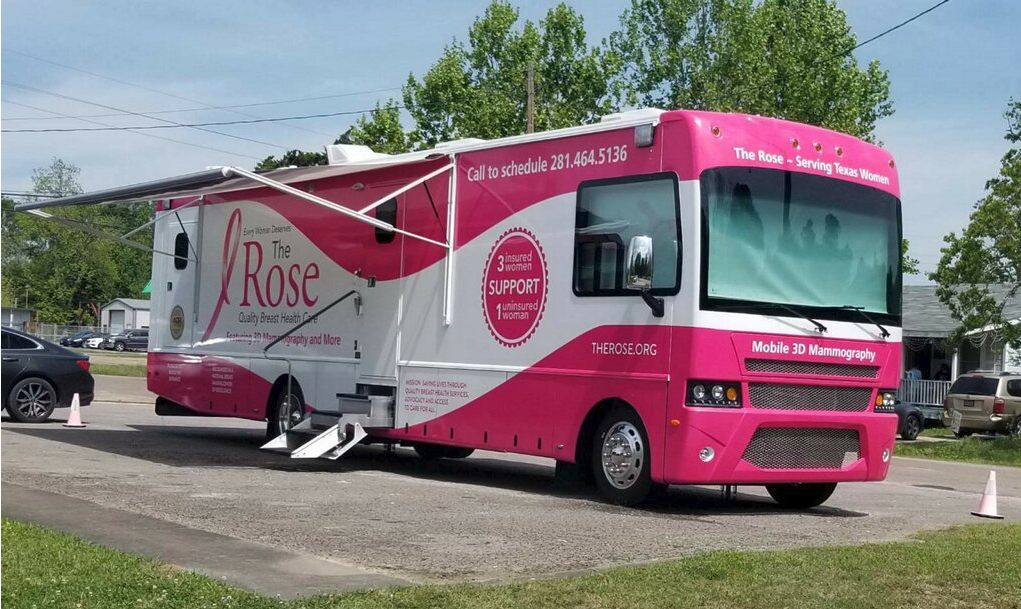 The Rose mobile mammography