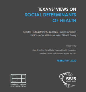 Texan's Views on Social Determinants of Health - EHF Report
