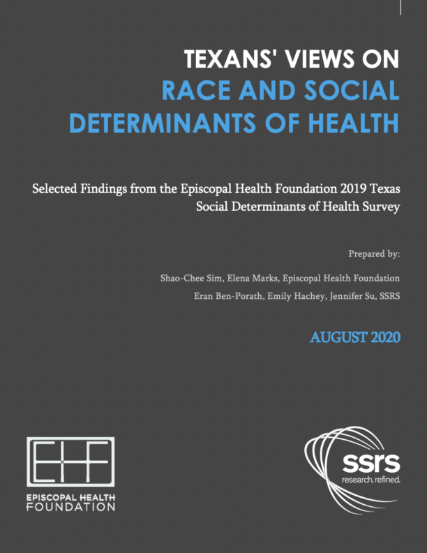 Texans' Views on Social Determinants of Health and Race