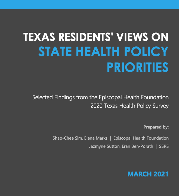 New Texas Health Policy Poll: Texans show sweeping support for expanding Medicaid