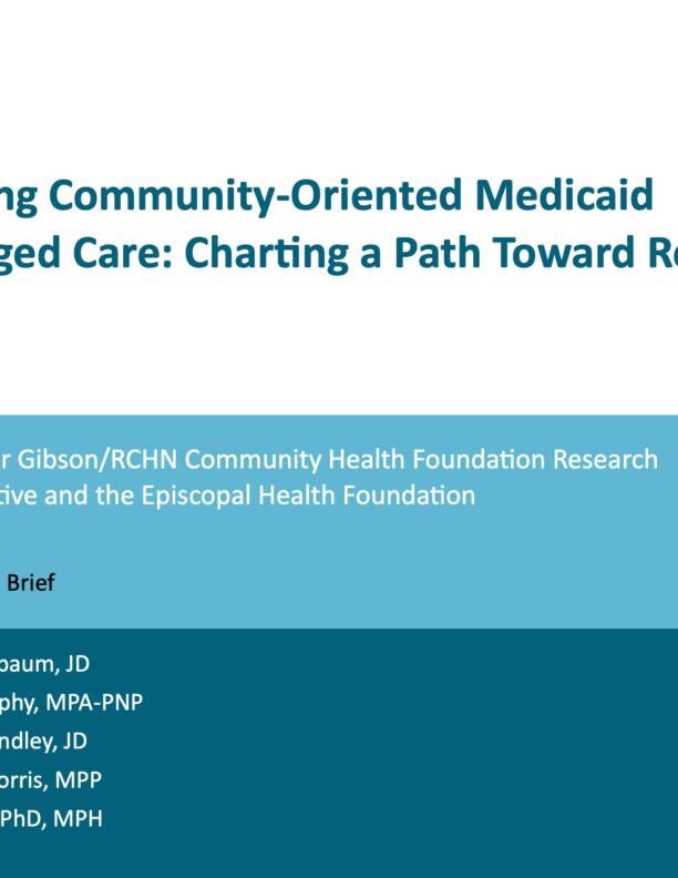 New report: Work by Texas clinics to address community-wide health needs offers model for Medicaid managed care