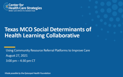 Using Community Resource Referral Platforms to Improve Care